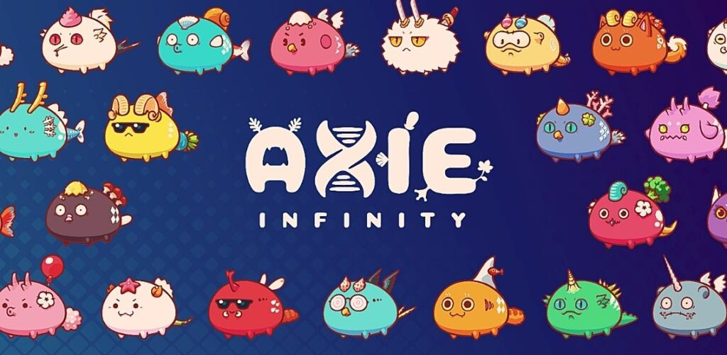 Meet Axie Infinity. Axie Infinity can be described as a Pokemon-like online platform inhabited by cute digital creatures that can be raised, trained, traded, and acquired before players can set them off to battle